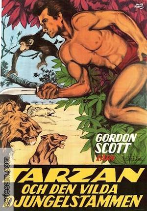 Tarzan och den vilda djungelstammen