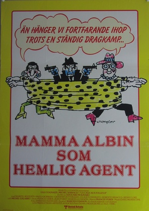 Mamma Albin som hemlig agent
