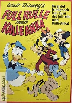 Full rulle med Kalle Anka