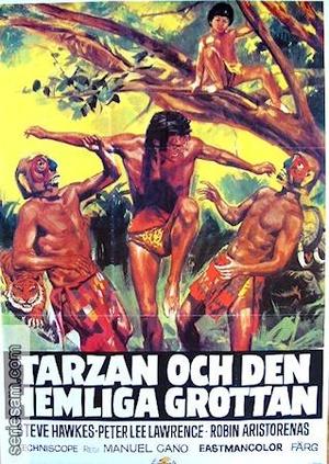 Tarzan och den hemliga grottan