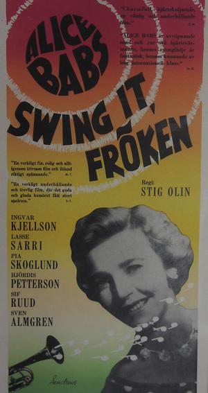 Swing it fröken