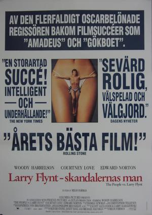 Larry Flynt- Skandalernas man