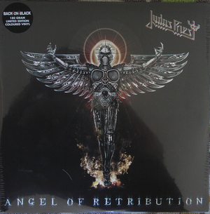 "Judas Priest ""Angel Of Retribution"" Limiterad orange vinyl"