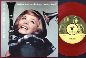 BEATLES - Ain´t she sweet / Lucky stuff RED VINYL Swe PS 1964