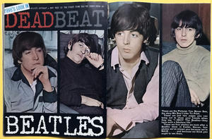 RAVE - Feb 1965 BEATLES cover