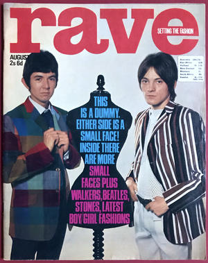 RAVE - Aug 1966 SMALL FACES omslag