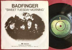 "BADFINGER - Day after day 7"" Swe PS 1972"