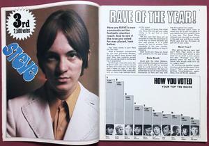 RAVE - Juli 1967 JIMI HENDRIX omslag