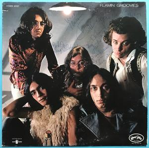 FLAMIN´ GROOVIES - Flamingo US-orig SIGNERAD LP 1971