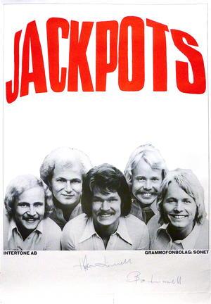 JACKPOTS (1970´s) - Tour poster