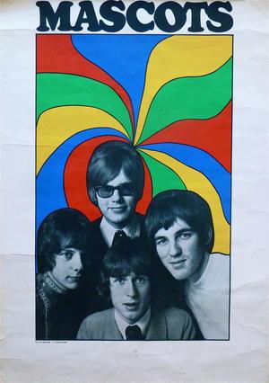 MASCOTS (1966-67) - Tour poster