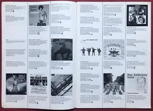 MUSIC, MUSIC, MUSIC - Svensk 1972 EMI skivkatalog CREEDENCE omslag
