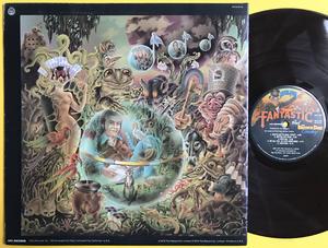 ELTON JOHN - Captain Fantastic and the Brown Dirt Cowboy US-orig BRUN vinyl SIGNERAD LP 1975