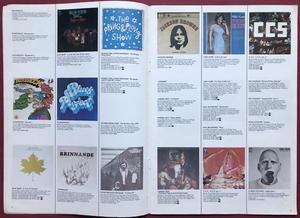 MUSIC, MUSIC, MUSIC - Swedish 1972 EMI Record catalogue  CREEDENCE cover