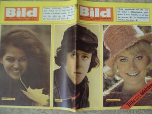 BILDJOURNALEN no 42 1965 Claudia Cardinale/Donovan