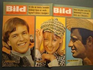 BILDJOURNALEN no 45 1965 Belmondo