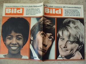 BILDJOURNALEN nr 29 1965 Stones/Charlie Watts/ Millie