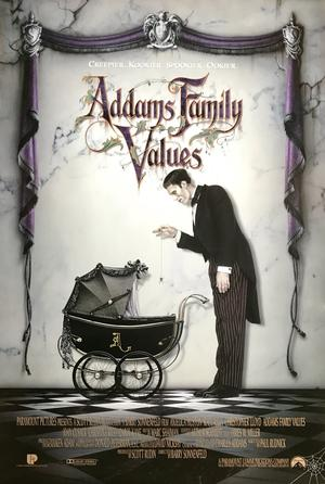 ADDAMS FAMILY VALUES (1993) Style B