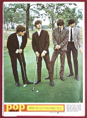 BEATLES - POPBILD no 3 1965 Toppskick!