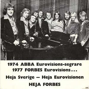 ABBA / FORBES 1977 Promo foto
