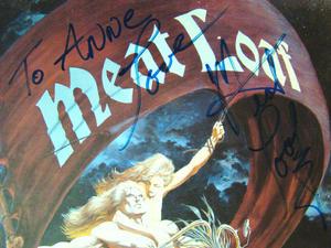 MEATLOAF Dead ringer - Signed LP PROMO!