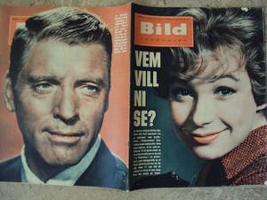 Bildjournalen no 30 1961 Shirley MacLaine/ Burt Lancaster