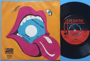 ROLLING STONES - Angie TURKISK PS 1973!