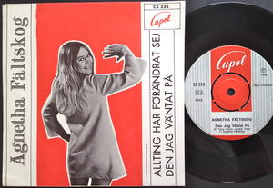 AGNETHA FÄLTSKOG - Allting har förändrat sig Swe PS 1968