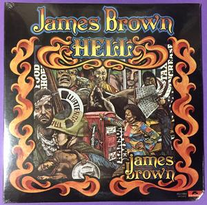 JAMES BROWN - Hell US-orig 2LP 1974 OÖPPNAD!