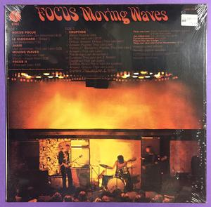 FOCUS - Moving waves US-orig LP 1973 OÖPPNAD!