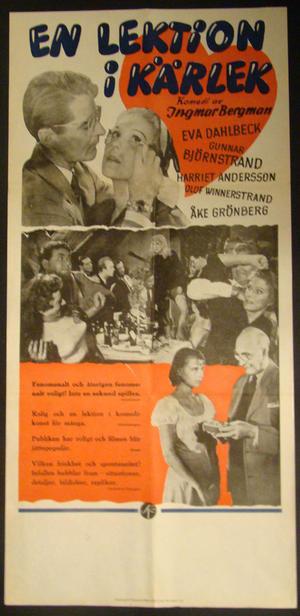 EN LEKTION I KÄRLEK (INGMAR BERGMAN - EVA DAHLBECK, HARRIET ANDERSSON)