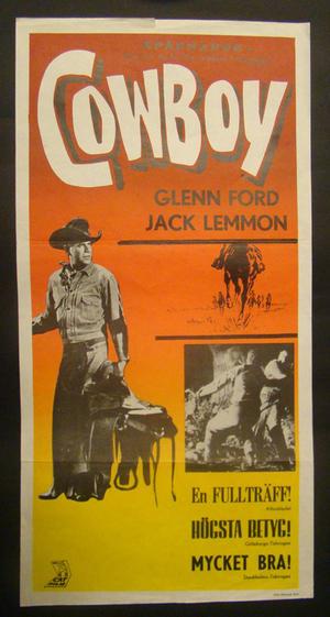 COWBOY (GLENN FORD, JACK LEMMON)
