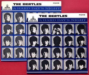 BEATLES - A hard days night + 3 Mörkblå Swe EP 1964