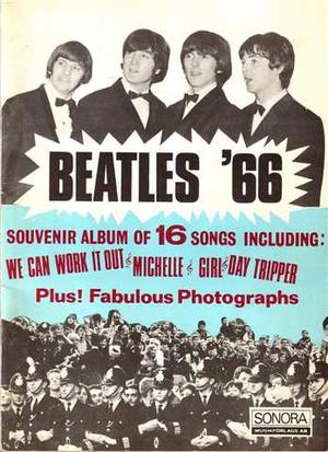 BEATLES - NME 1966 Annual English Sheet music
