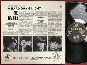 BEATLES - A hard day´s night Svensk-orig LP 1964