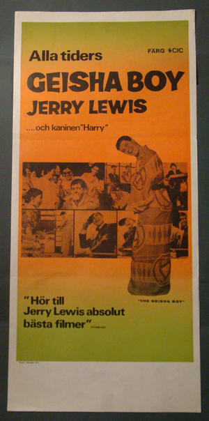 THE GEISHA BOY (JERRY LEWIS)