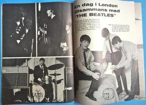 BEATLES - Träff med The Beatles (Meet The..) No 1 1964