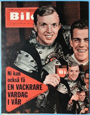 BILDJOURNALEN - nr 14 1964 SPOTNICKS omslag