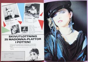 ROCK POSTER Special - MADONNA pop mag 1985