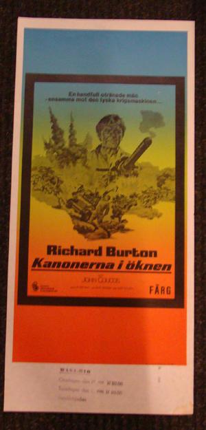 RAID ON ROMMEL (RICHARD BURTON)
