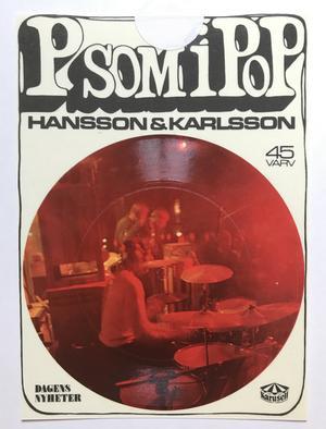 HANSSON & KARLSSON - P som i Pop - Bok + Flexisingel!