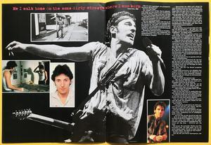 ROCK POSTER Special - BRUCE SPRINGSTEEN pop mag 1985