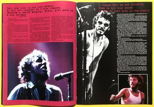 ROCK POSTER Special - BRUCE SPRINGSTEEN poptidning 1985