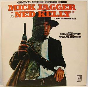 NED KELLY - Mick Jagger Rolling Stones O.S.T. / LP