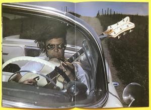 NEIL YOUNG - Transworld tour Konsertprogram 1982