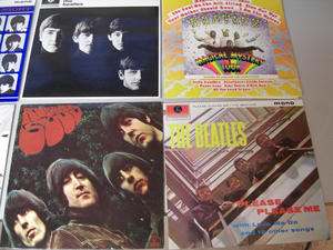 BEATLES - Limited edition Black Wood Roll Top BOX SET 14 LP 1988