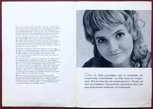 DORIS - EMI promo folder 1969