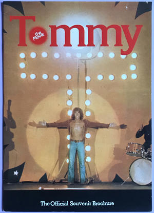 THE WHO - Tommy Souvenirprogram 1975