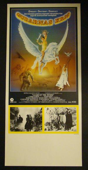 CLASH OF THE TITANS (HARRY HAMLIN, JUDI BOWKER, URSULA ANDRESS )