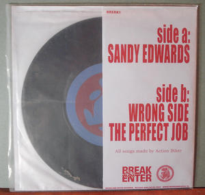 ACTION BIKER - Sandy Edwards 7""